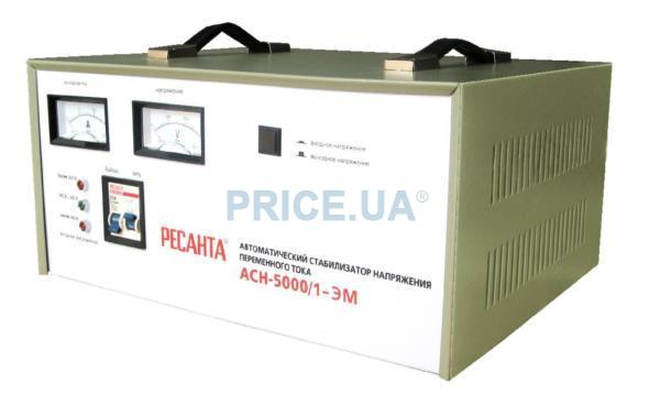 Ресанта АСН-5000/1-ЭМ.  Стабилизатор напряжения.