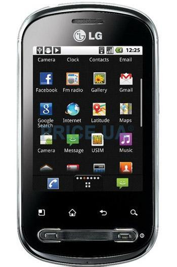LG P350 Optimus Me. Цены в г. Донецк. Купить
